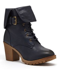 Another great find on #zulily! Blue Lakene Ankle Boot #zulilyfinds