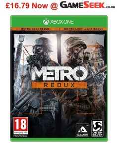 Get Metro Redux on #Xbox #One for just £16.79! #Gaming