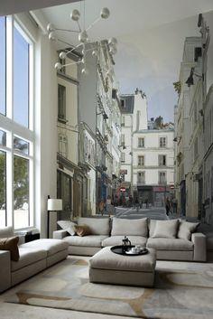 Diseño de Interiores & Arquitectura: 10 Ideas para Decorar un Salón con los Fotomurales de PIXERS
