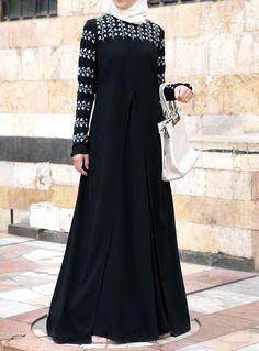 SHUKR USA | Hadiya Embroidered Gown