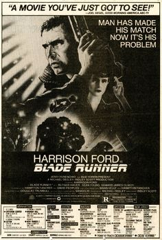 Newspaper ad for BLADE RUNNER in 70mm