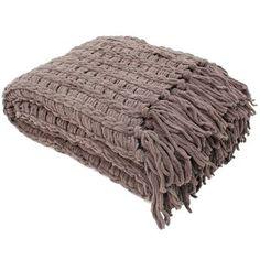 J&M Home Fashions Luxury Chenille Throw Blanket & Reviews | Wayfair
