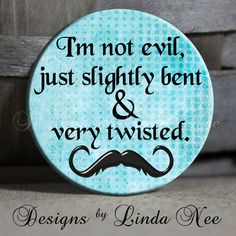 Pinback BUTTON Images 1 inch round 1.313 overall size - Full of Sassy Quotes Digital Collage Sheet AMERICAN BUTTON Machine Tecre. $3.95, via Etsy.