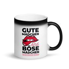 Wer liebt keine gute Überraschung? Mit dieser farbverändernden Kaffeetasse sind Sie definitiv auf der Suche nach einer großartigen Tasse. Diese Tasse hat ein schwarzes, mattes Finish, wenn sie leer getrunken ist. Aber wenn es mit einem Heißgetränk in Berührung kommt, enthüllt der Becher einen schönen Druck, der Sie imm Mugs, Tableware, Coffee Cups, Tumblers, Home Decor Accessories, Dinnerware, Tablewares, Mug, Dishes