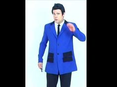 Teddy Boy Costume Blue | 50's Men's Fancy Dress Costumes