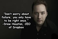 CEO of dropbox - quote