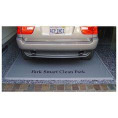 Clean Park Garage Mat | from hayneedle.com
