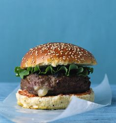 Turkey Cheddar Burgers | Epicurious.com
