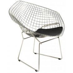 Buy Harry Bertoia Diamond Chair with FREE UK and European delivery. Swivel UK supply the highest quality reproduction furniture to buy online. Harry Bertoia, Knoll Chairs, Bar Chairs, Home Furniture, Furniture Design, Furniture Chairs, Furniture Online, Wire Chair, Reproduction Furniture