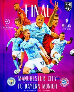 Ucl Final, Football Final, Fc Bayern Munich, Manchester City, Champions League, Finals, Milan, Comic Books, Minimum
