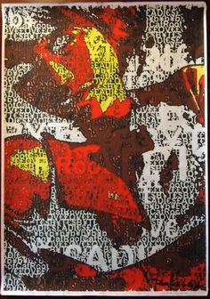 Déposition de croix* #LOVE #BYTES #LADIES EXTRA PRINTS #ROOTCAT (*cf. dixit #MurielCerf)