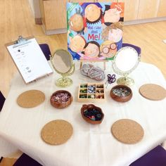 Self-Portrait Provocation The Word Wall was a great idea from the course I took! Looking forward to seeing what our students create with these open-ended materials. Kindergarten Self Portraits, Kindergarten Inquiry, Self Regulation Kindergarten, Kindergarten Orientation, Word Wall Kindergarten, Literacy, Reggio Emilia, All About Me Preschool, Early Education