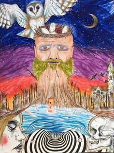 """Deconstructing the Natural"", by Socrates Sandman. For more pics: https://m.facebook.com/WOSandman/?ref=m_notif&notif_t=aymt_make_page_post_tip"