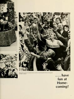 """""""...have fun at Homecoming?"""" Athena, 1989 :: Ohio University Archives."""