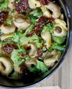 Tortellini With Broccoli & Sun Dried Tomato