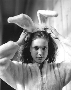 Natalie Portman for Bruce Weber's 1998 photoshoot for Vogue Italia.