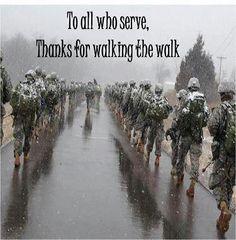 Thanks to those who serve