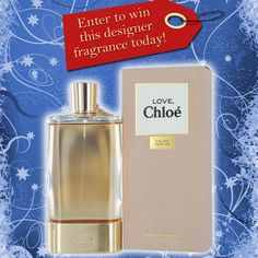 Enter to win a new designer fragrance daily, for 12 days! Today, win CHLOE LOVE! ENTER » » http://on.fb.me/RQfDTL Don't forget, SHARE THE LOVE! Invite your friends and increase your chances to win. Get an extra chance whenever one of your friends signs up!