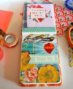 Wonderful mini glue Journals
