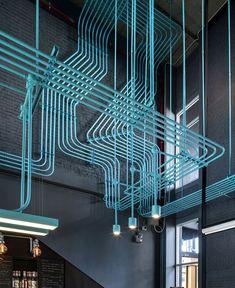 Co-Working Space Hubba-to by Supermachine Studio - InteriorZine
