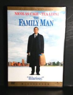 The Family Man (Widescreen Collector& Edition) DVD Nicolas Cage Tea Leoni Man Movies, Comedy Movies, Movies To Watch, Movie Tv, Movie List, Movie Club, Family Movies, Nicolas Cage, Streaming Vf