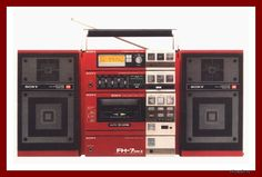 Sony FH-7 MKII Hi End, Tape Recorder, Hifi Audio, Boombox, Sony, Hobbies, Objects, Dreams, Cool Stuff