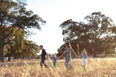 Sunset family portraits | Olivia Richards Photography | Bay Area Photographer