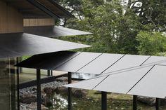 roof edge | Water/Cherry | kengo kuma and associates