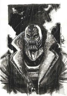 Dark Knight Bane by Rudy Ao