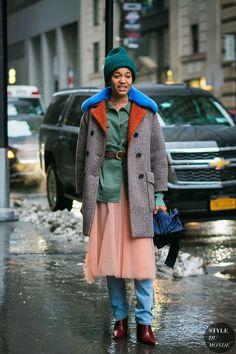New York Fashion Week Fall 2017 Street Style: Tamu McPherson