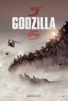 Holy Shit, ist der riesig! Sehr cooles #GODZILLA (2014) Teaser Poster.