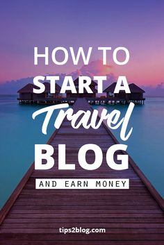 Start a Travel blog within 7 Minutes. Guaranteed or else free. #travel #tips