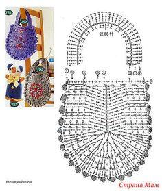 Free Crochet Bag Patterns Part 20 - Beautiful Crochet Patterns and Knitting Patterns Beau Crochet, Free Crochet Bag, Crochet Purse Patterns, Crochet Gifts, Crochet For Kids, Crochet Bags, Knit Crochet, Bag Patterns, Crochet Solo