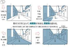 建物の影3