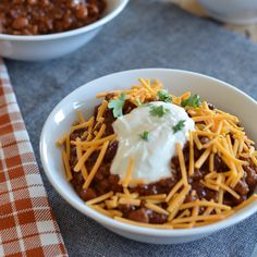 """Today, I'm excited to share another delicious recipe from blogger,Jessica Wood. She and I are doing a chili exchange this week. She's sharing her mom's chili recipe on my blog today and my """"mama's chili"""" will be up on her blog later this week. I can't wait to tryherchili! It looks amazing! Hi I'm Jessica! Over on my food blog, I share my favorite recipes and kitchen tips to encourage all of us to get in the kitchen and share food with our favorite people more often. My husband and I live…"""