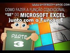 Vídeo Aula Excel 2010 Avançado - Função SE Aninhada com E  - Aula 3/3 - www.professorramos.com