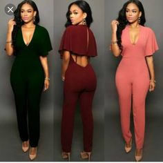 Disciplined 2019 New Pink Green Sleeveless V Neck Rompers Sequined Bandage Jumpsuit Evening Bodycon Celebrity Party Jumpsuits Wholesale Women's Clothing