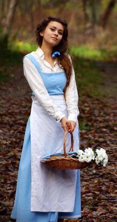 basic blue A-line dress- with a waist seam..... I think I&-39-ll ...