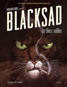 Blacksad by Juan Díaz Canales; Juanjo Guarnido; Anthya Flores; Patricia Rivera; Studio Cutie.