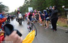 2014 vuelta-a-espana photos stage-09 - Winner Anacona (Lampre - Merida) went solo with 6 km to go