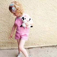 """Ciara Mc @ciaramctin on Instagram: """"• Taking 'the twins' for a walk  •pointing at our ant infestation  •styling her ice-cream-coloured #ootd up perfectly with her #multimctini #midibowtini  This is the same #knit #multimctini #hairbow as in our previous post, just reversed - two looks for the price of one! """""""