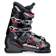 The new Nordica Cruise 60 ski boots offer skiers the ideal accommodating last width of 104mm with a flex index of 60. The Cruise 60 ski boots combine a Natural Foot Stance and PFP Comfort Fit Liner to keep your feet comfortable & happy for you to make turns all day long!