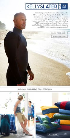 Image Reed Davis Photography for  PBTeen 2015 Kelly Slater for PBteen