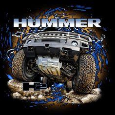 Hummer, automotive Art for Apparel  artpulseinc.com