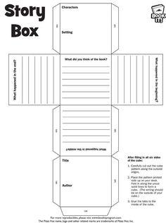 book report cube