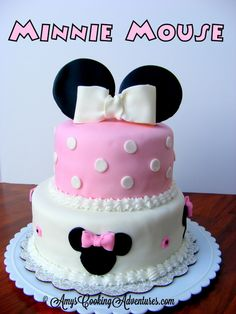 minnie mouse cakes | good friend of mine recentlythrew a Minnie Mouse themed birthday ...