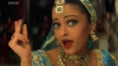 When exposure to fine posteriors demands a reaction. | 20 Badly Lip-Read Bollywood GIFs For Every Life Situation