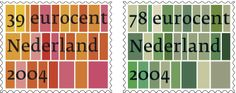 Peter Bilak, stamps for Dutch Royal Mail