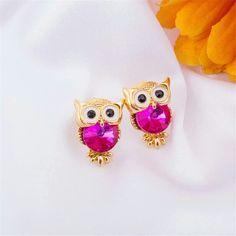 Cute owl earrings FREE