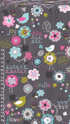 Super Ideas For Screen Savers Wallpapers Vintage Flower Background Wallpaper, Flower Backgrounds, Wallpaper Backgrounds, Background Designs, Pattern Paper, Fabric Patterns, Print Patterns, Cellphone Wallpaper, Iphone Wallpaper